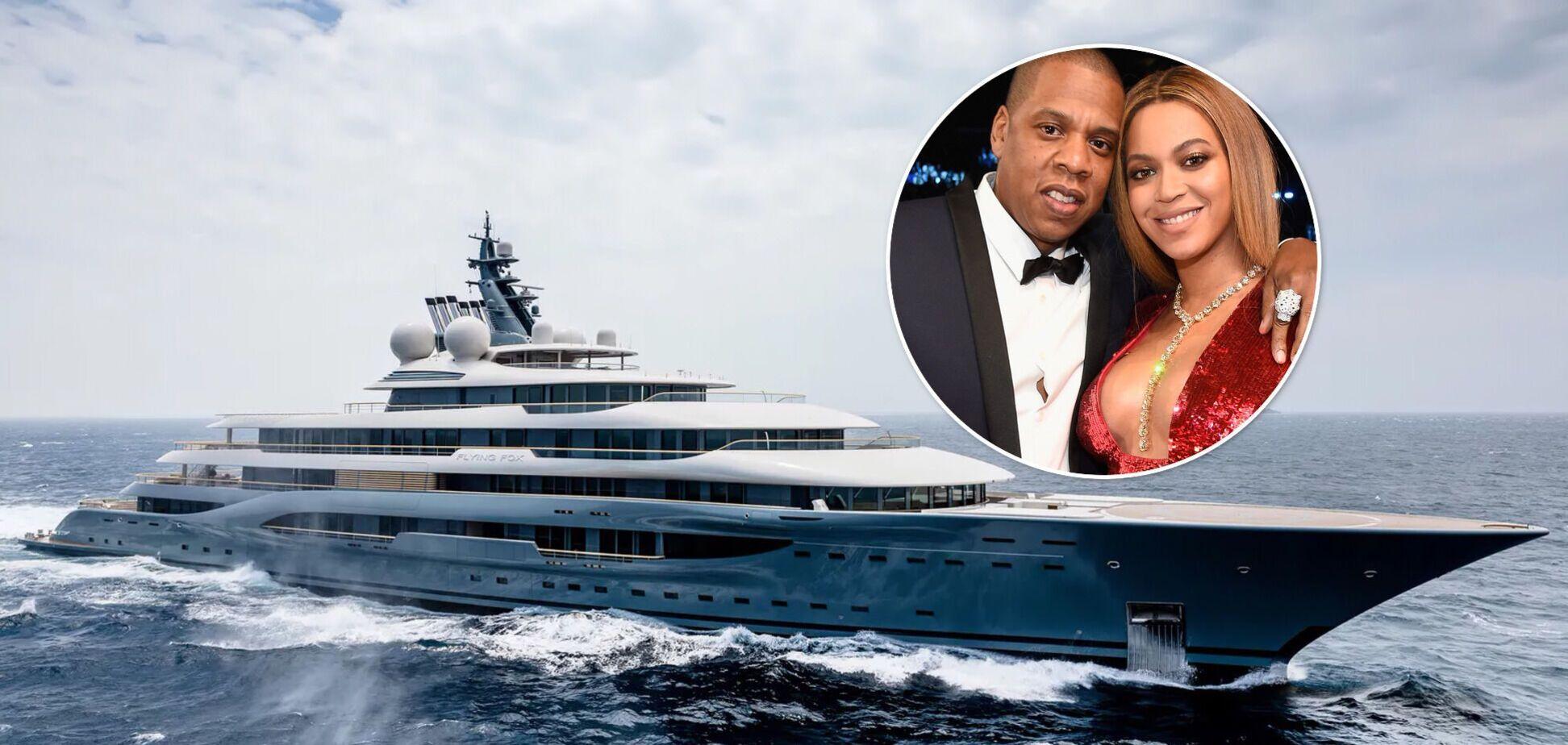 Бейонсе и Jay-Z отдыхают на яхте за 3 млрд евро: как она выглядит изнутри