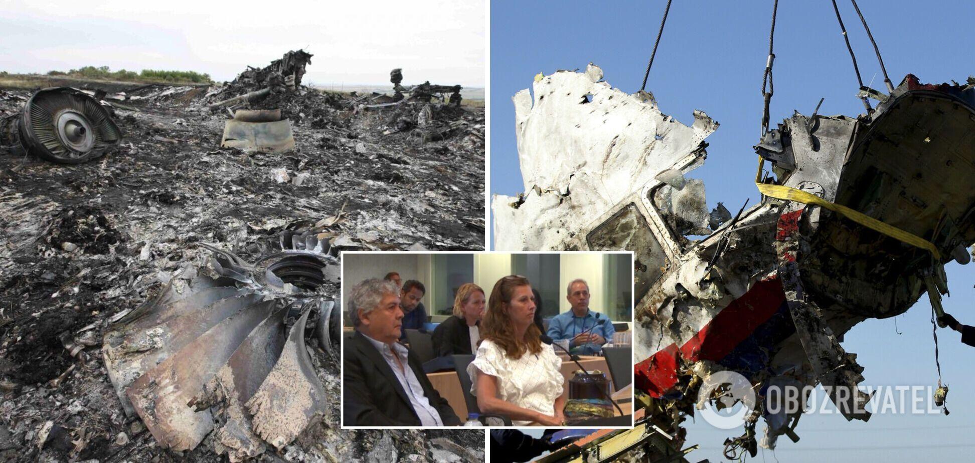 Мати загиблого в катастрофі МН17 хлопця принесла в суд у Гаазі прах сина і звернулася до Путіна
