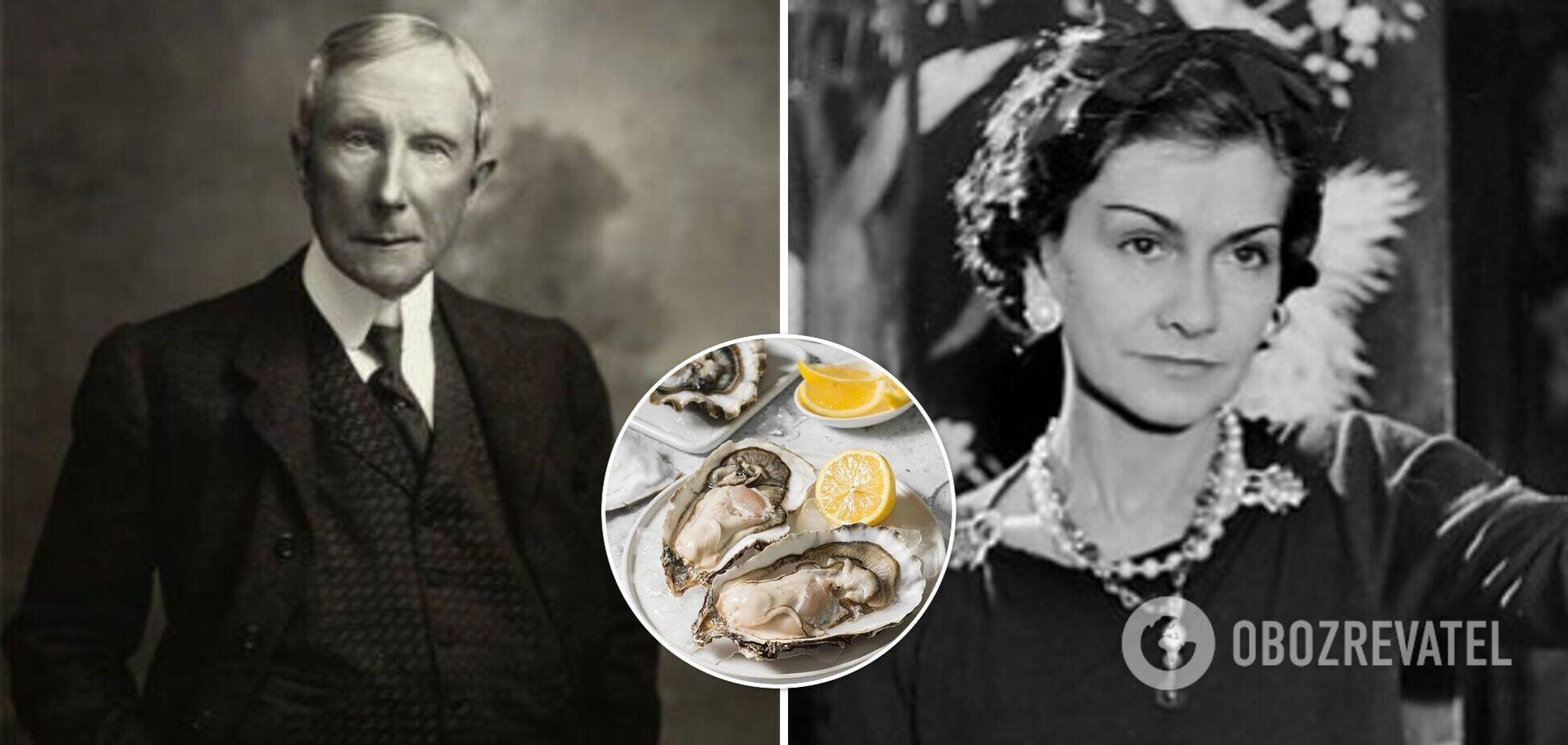 Устриці Джона Рокфеллера та салат Коко Шанель: страви з гучними назвами