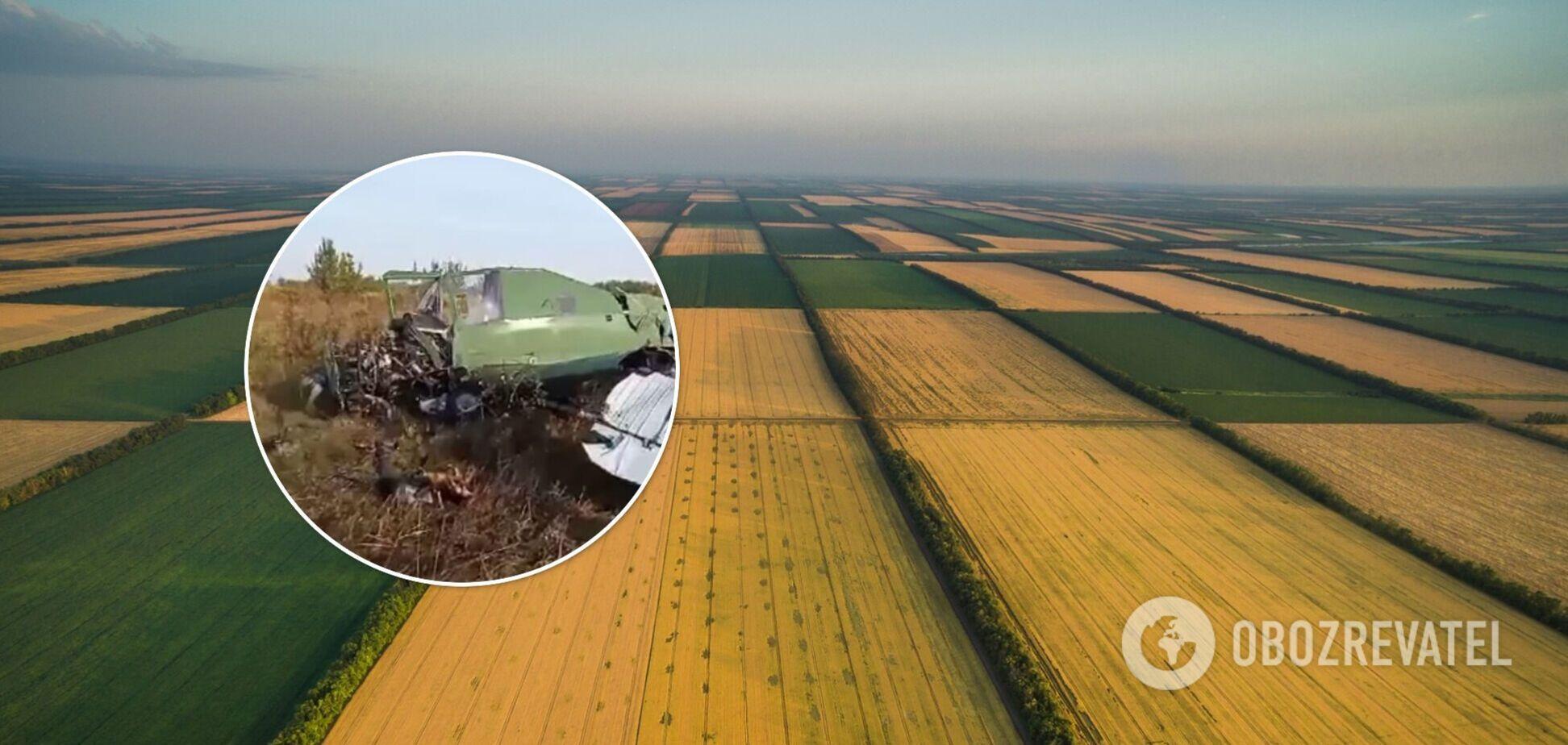 На Житомирщині розбився легкомоторний літак: з'явилися дані про долю пілота. Фото і відео