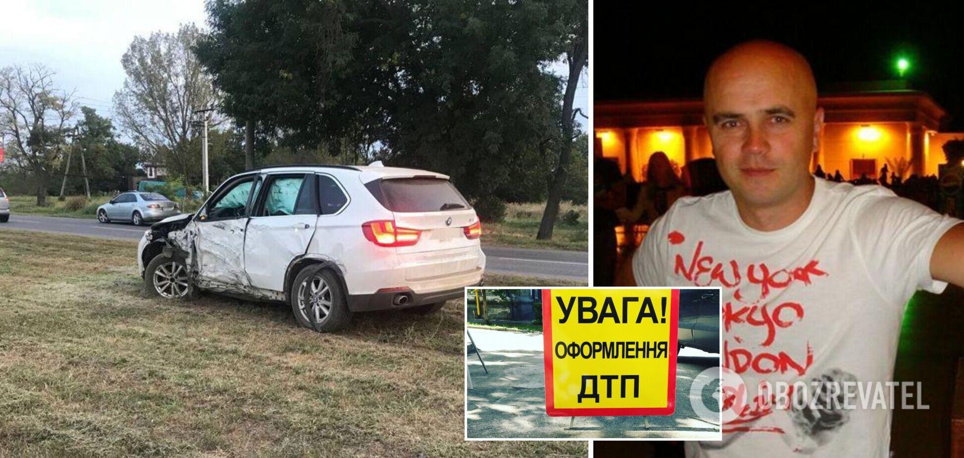 На Запорожье пьяный депутат сбил пешехода и пытался скрыться с места ДТП. Фото и видео