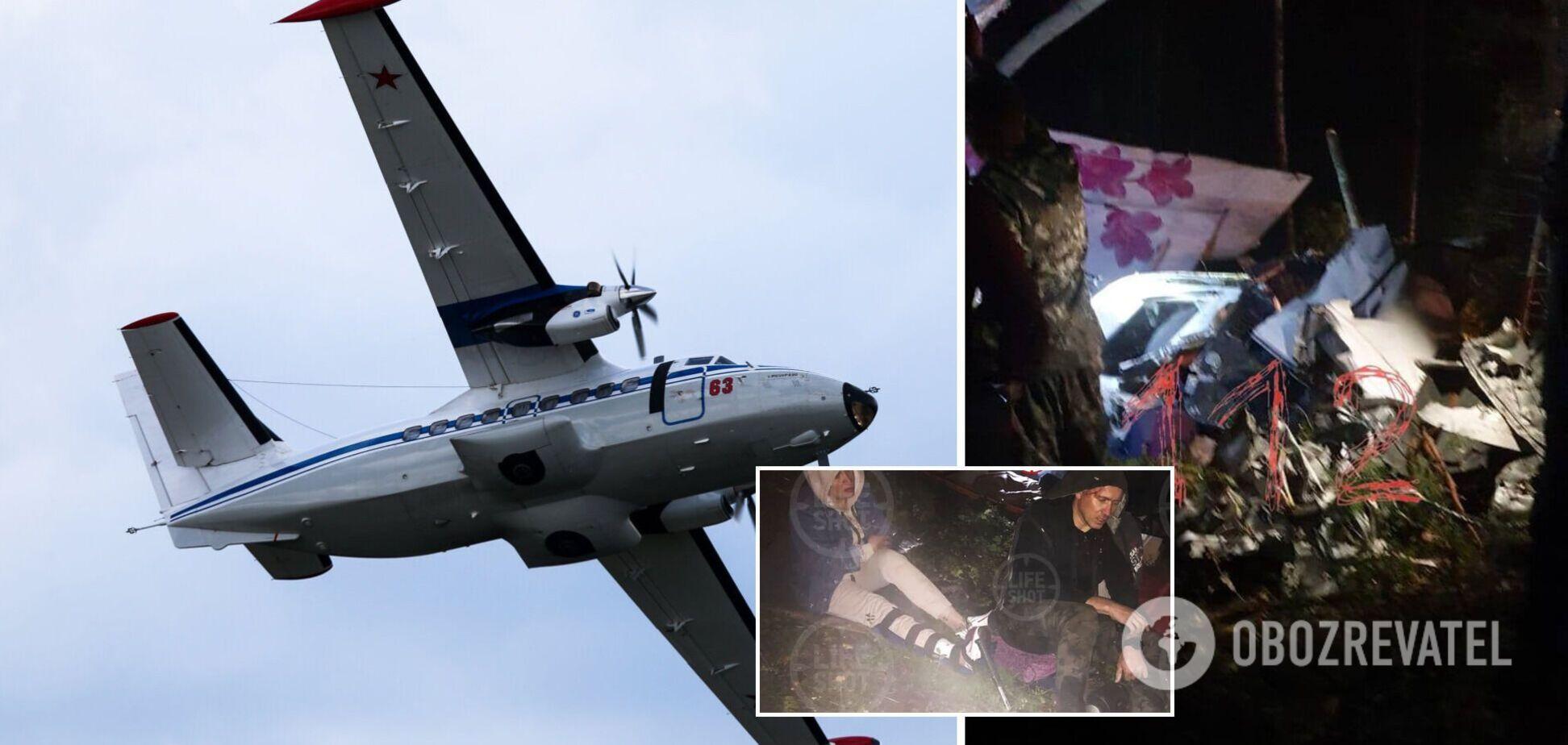 В России упал и загорелся пассажирский самолет: названы причины