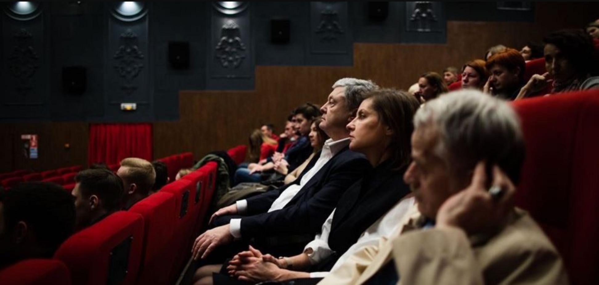 Порошенко поблагодарил кинематографистов за возрождение украинского кино