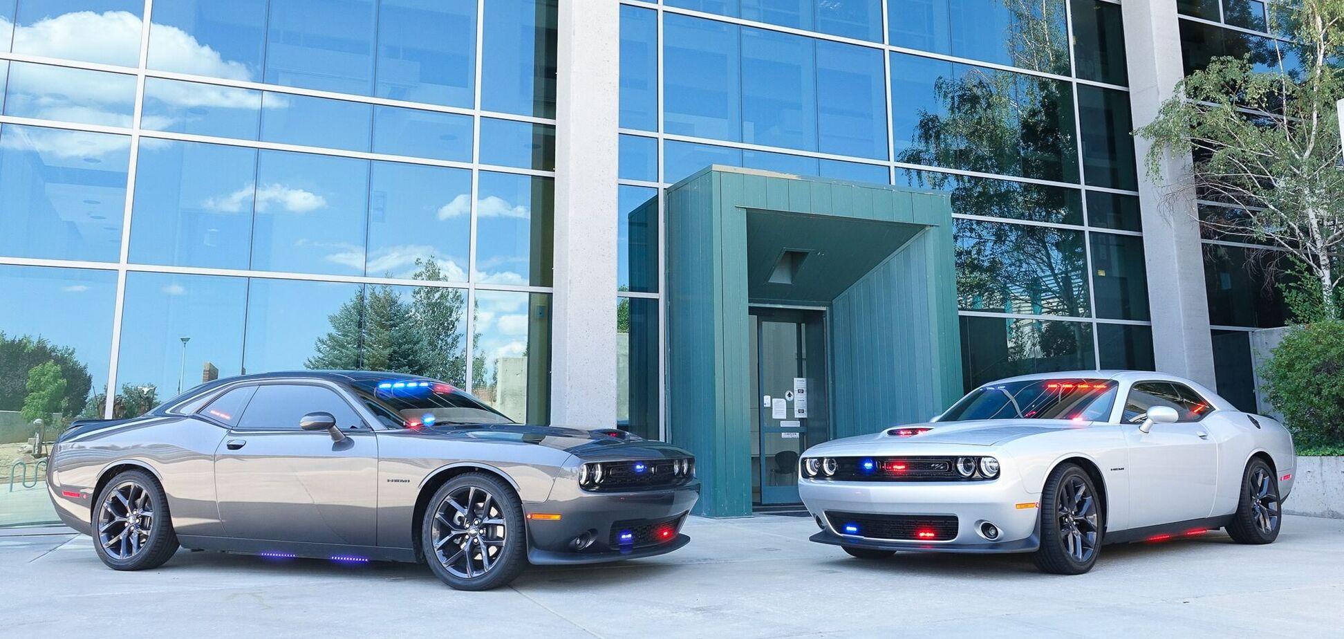 Полиция на спорткарах Dodge займется нарушителями ПДД в США