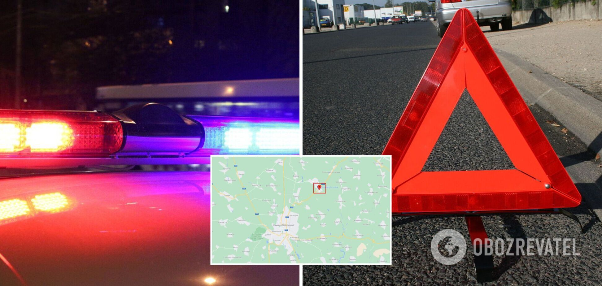 В масштабном ДТП на Хмельнитчине погибли три человека, еще трое получили травмы. Фото