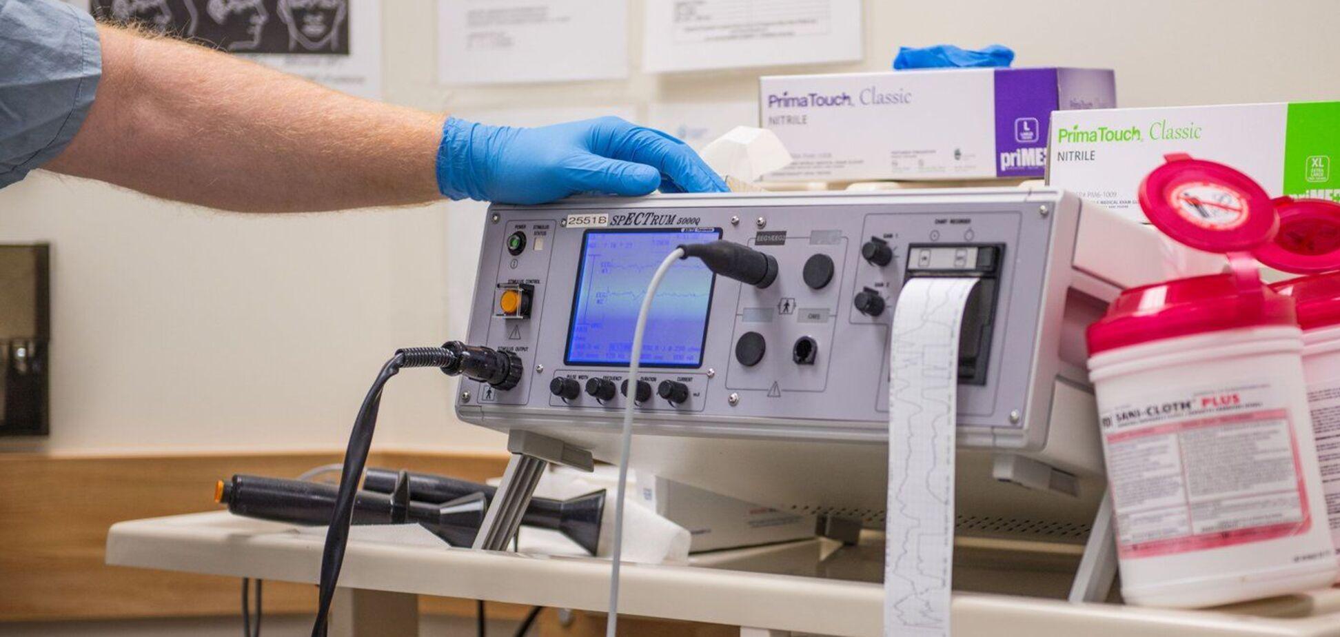 Дослідники підтвердили нові переваги електросудомної терапії