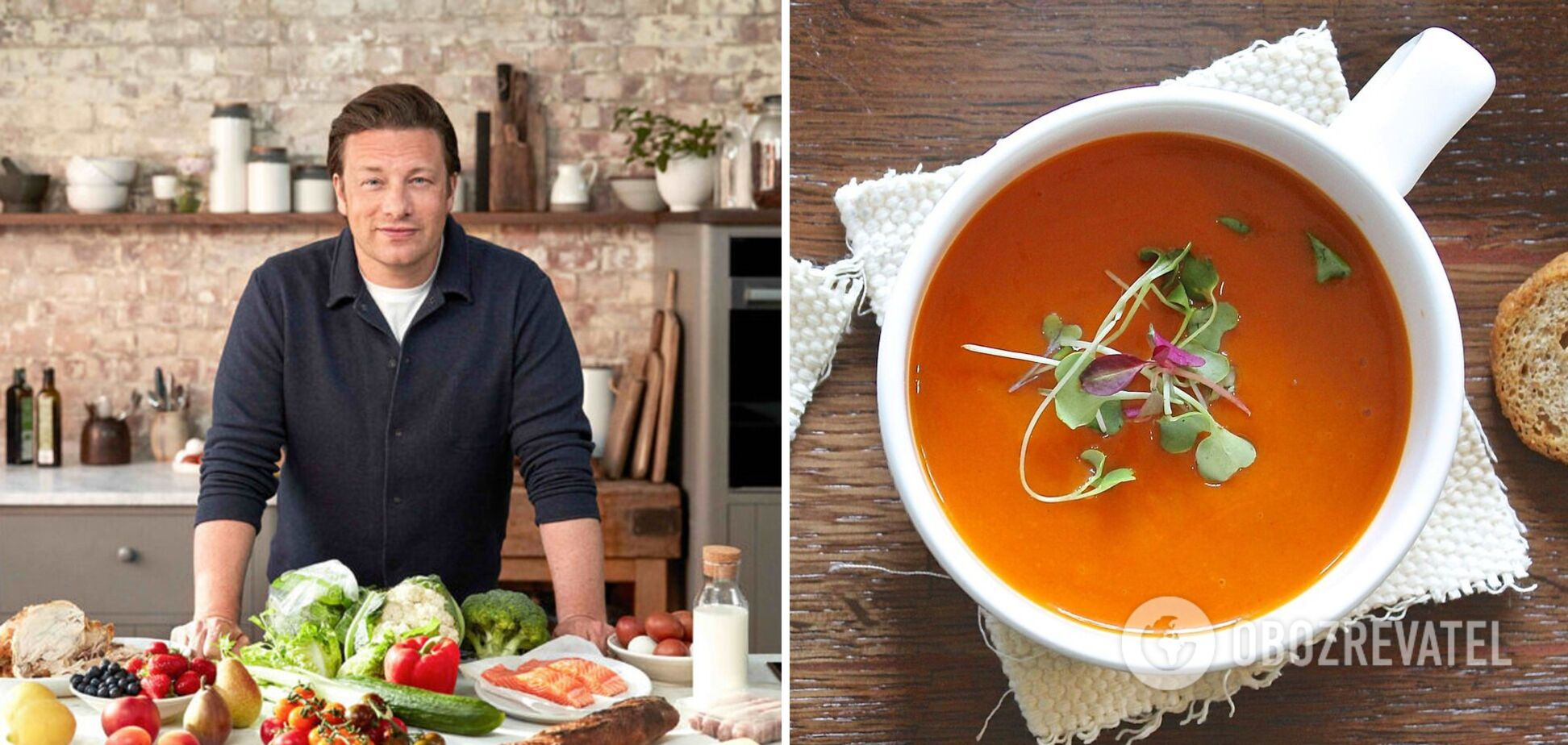 Рецепты лучших осенних овощных супов от Джейми Оливера