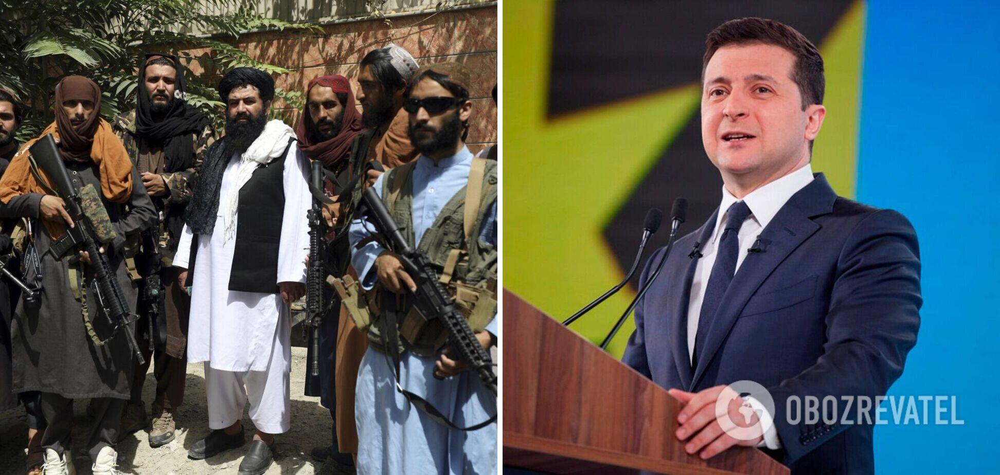 Зеленский объяснил, почему нельзя сравнивать Украину с Афганистаном, и озвучил ожидания от США