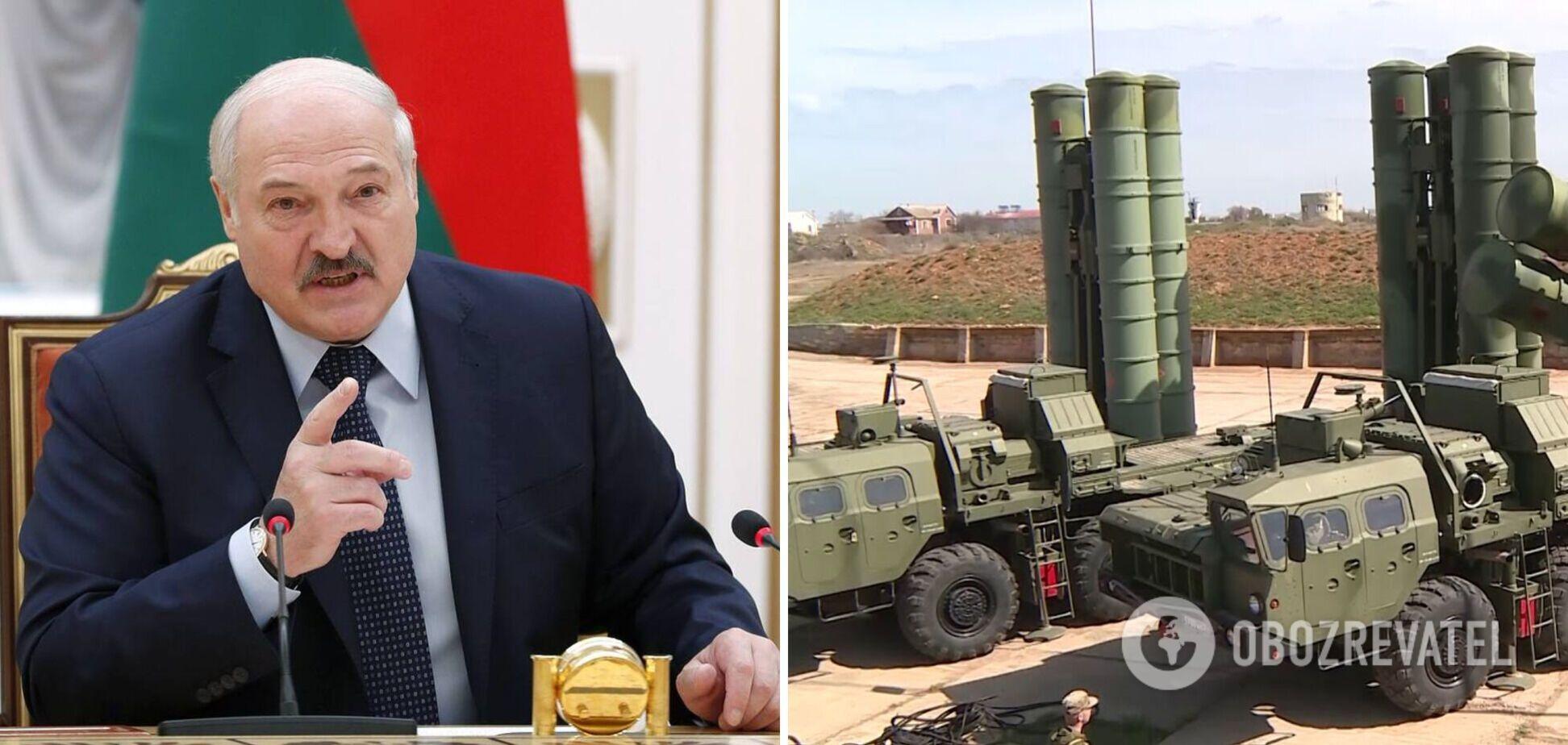 Лукашенко заговорил о размещении на границе с Украиной российских ЗРК С-400: нас начинают 'подогревать'