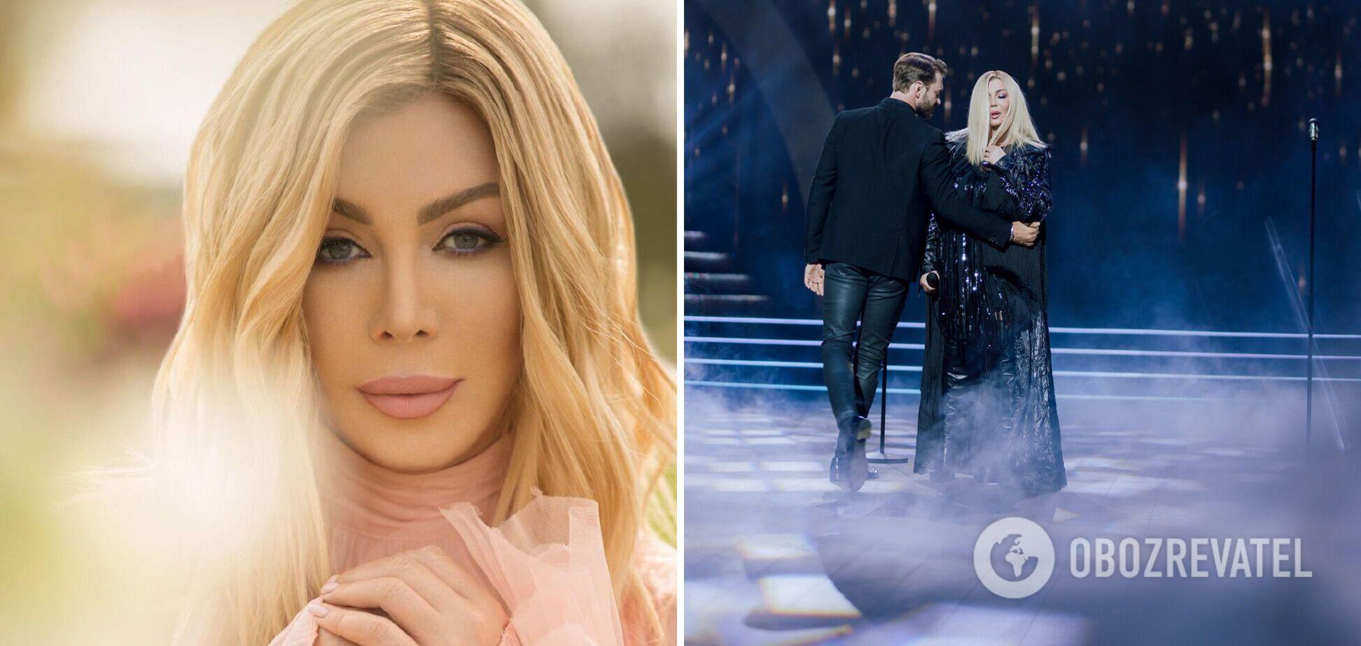 Ирина Билык на 'Танцях з зірками' спела с двумя бывшими мужьями песню о любви. Видео