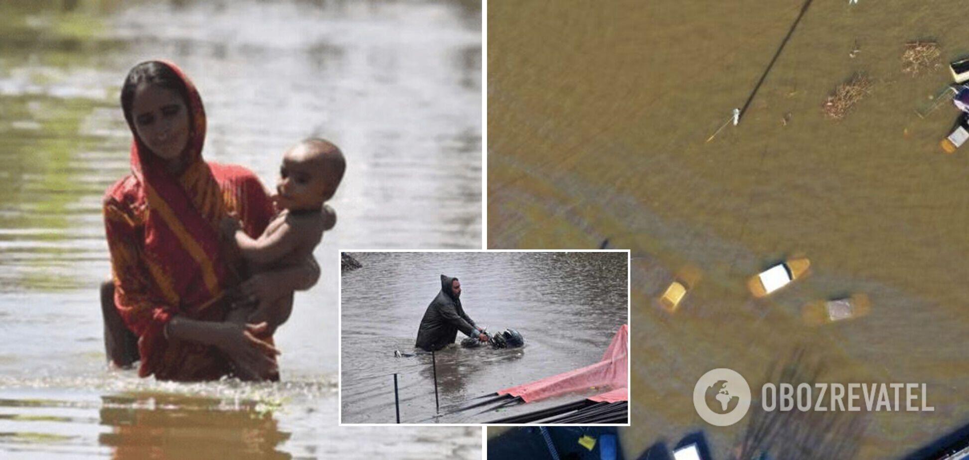 Пакистан накрыли наводнения