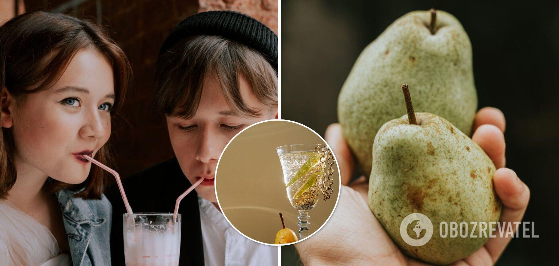 Простые витаминные грушевые коктейли: с йогуртом, молоком и сельдереем