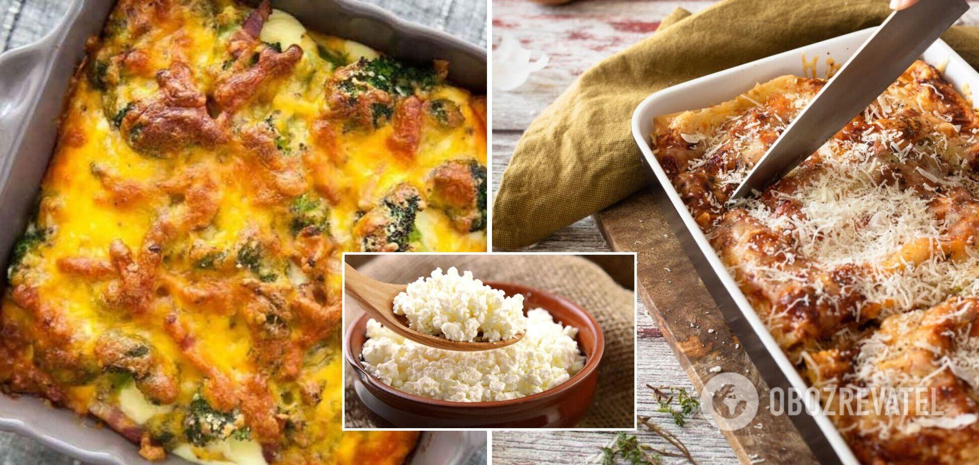 Ленивая запеканка с мясом, сыром и овощами: просто и быстро