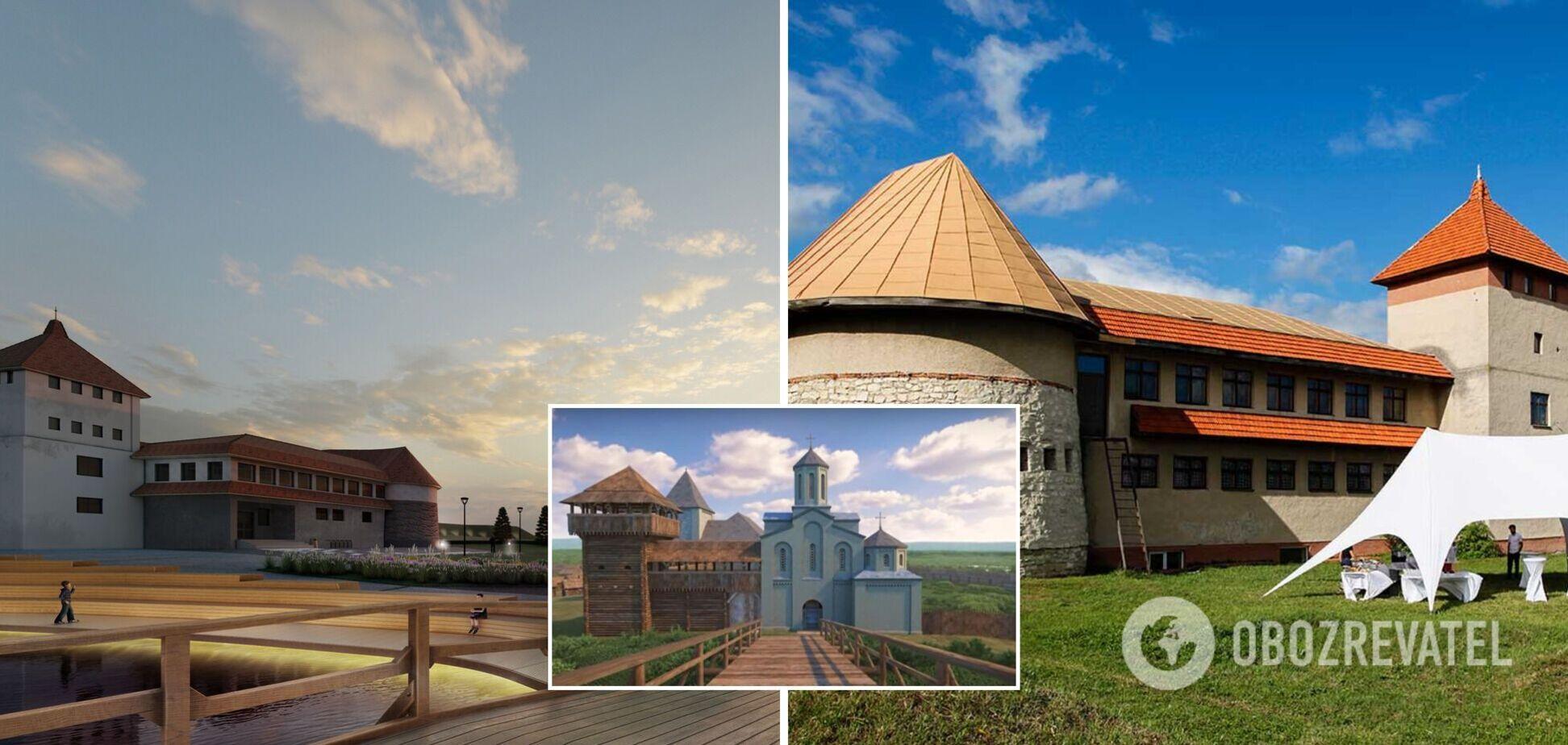 На Львовщине открыли заповедник 'Древний Звенигород'