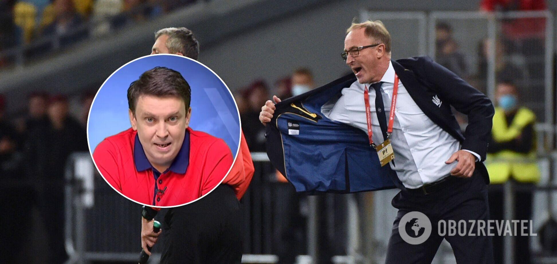 Журналист жестко наехал на Петракова, рассказав о возмущении Суркиса из-за слов тренера сборной Украины