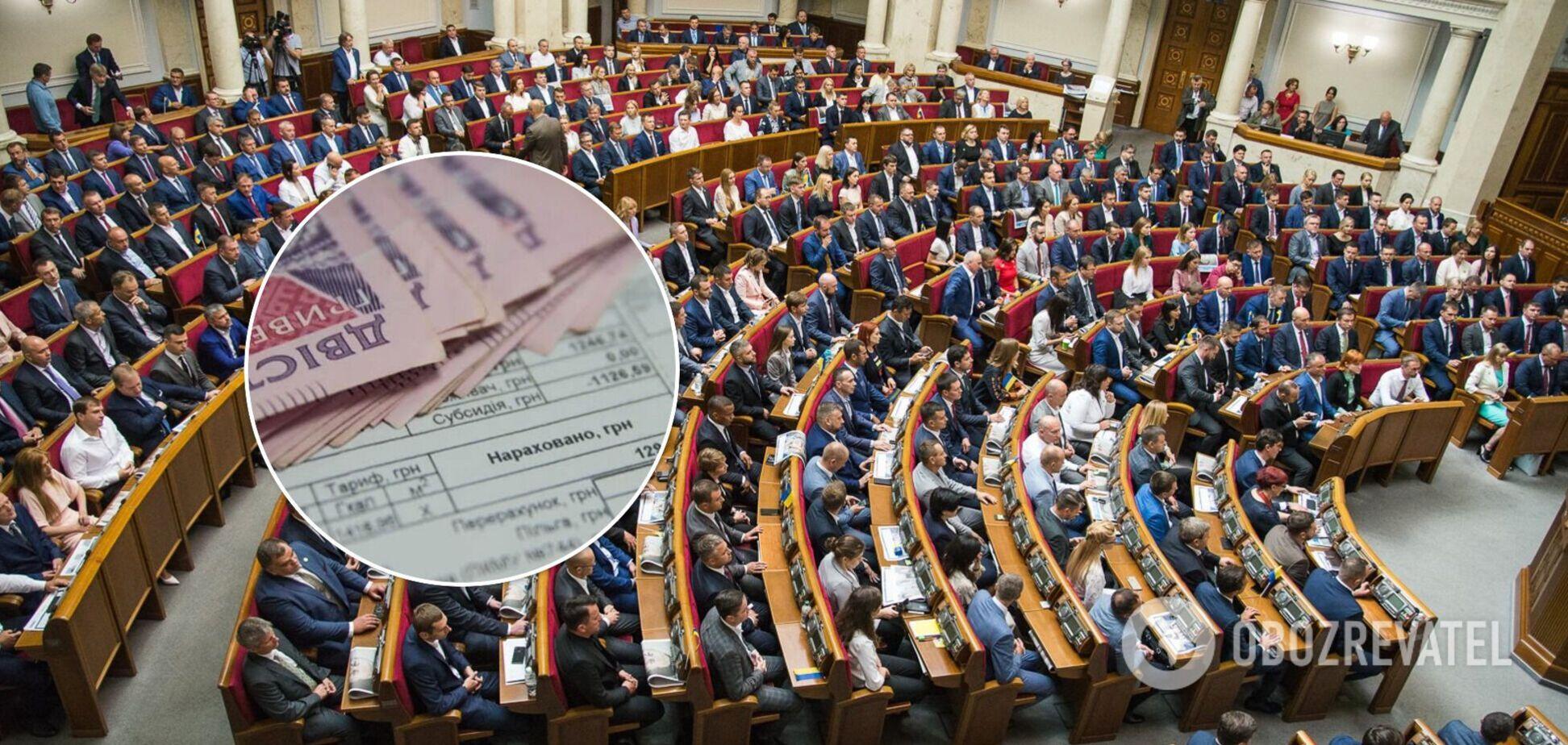 Експертка назвала партію, яка з першого дня роботи парламенту заговорила про тарифи та субсидії