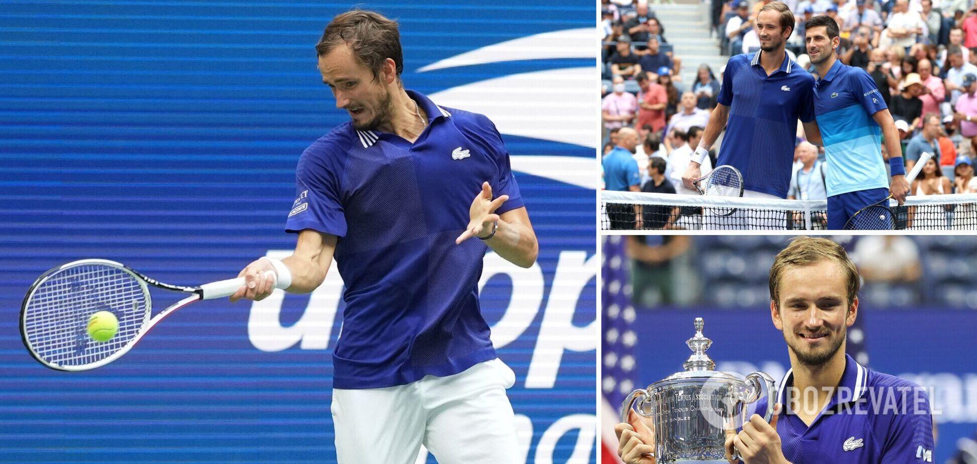 Медведев выиграл US Open 2021