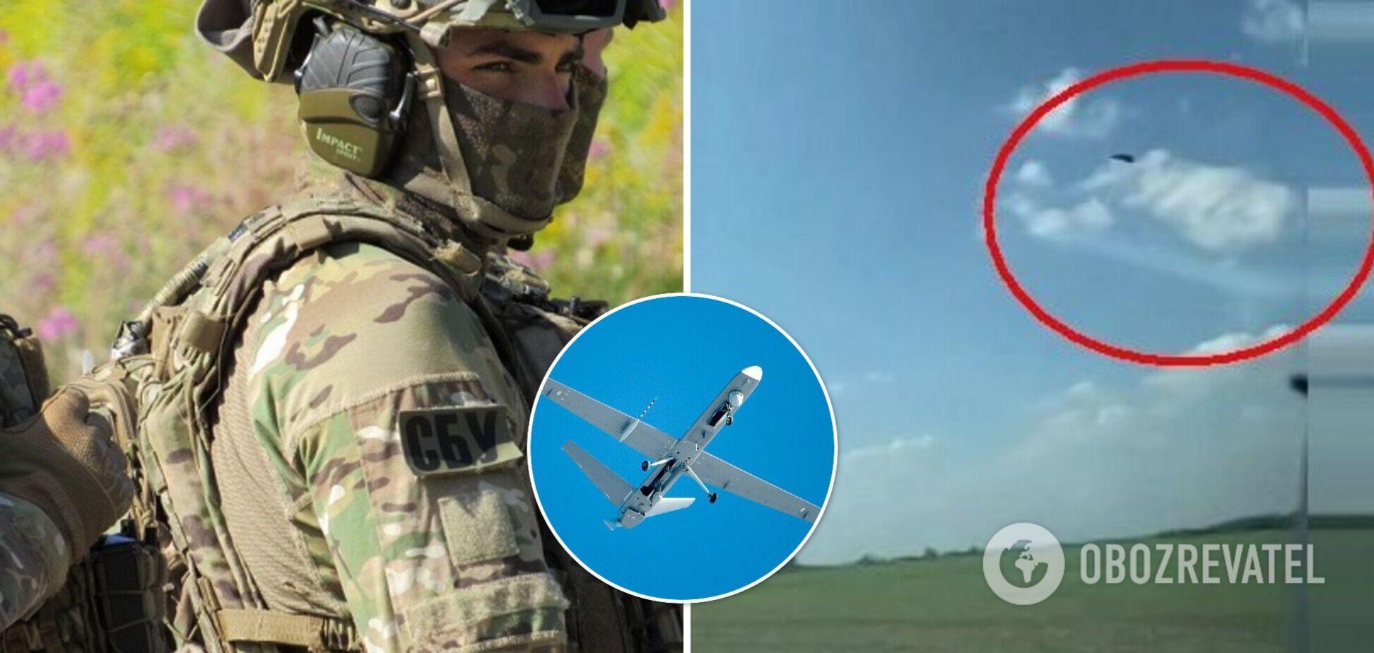 СБУ обнаружила беспилотник, пролетевший над Харьковщиной после Дня Независимости. Видео