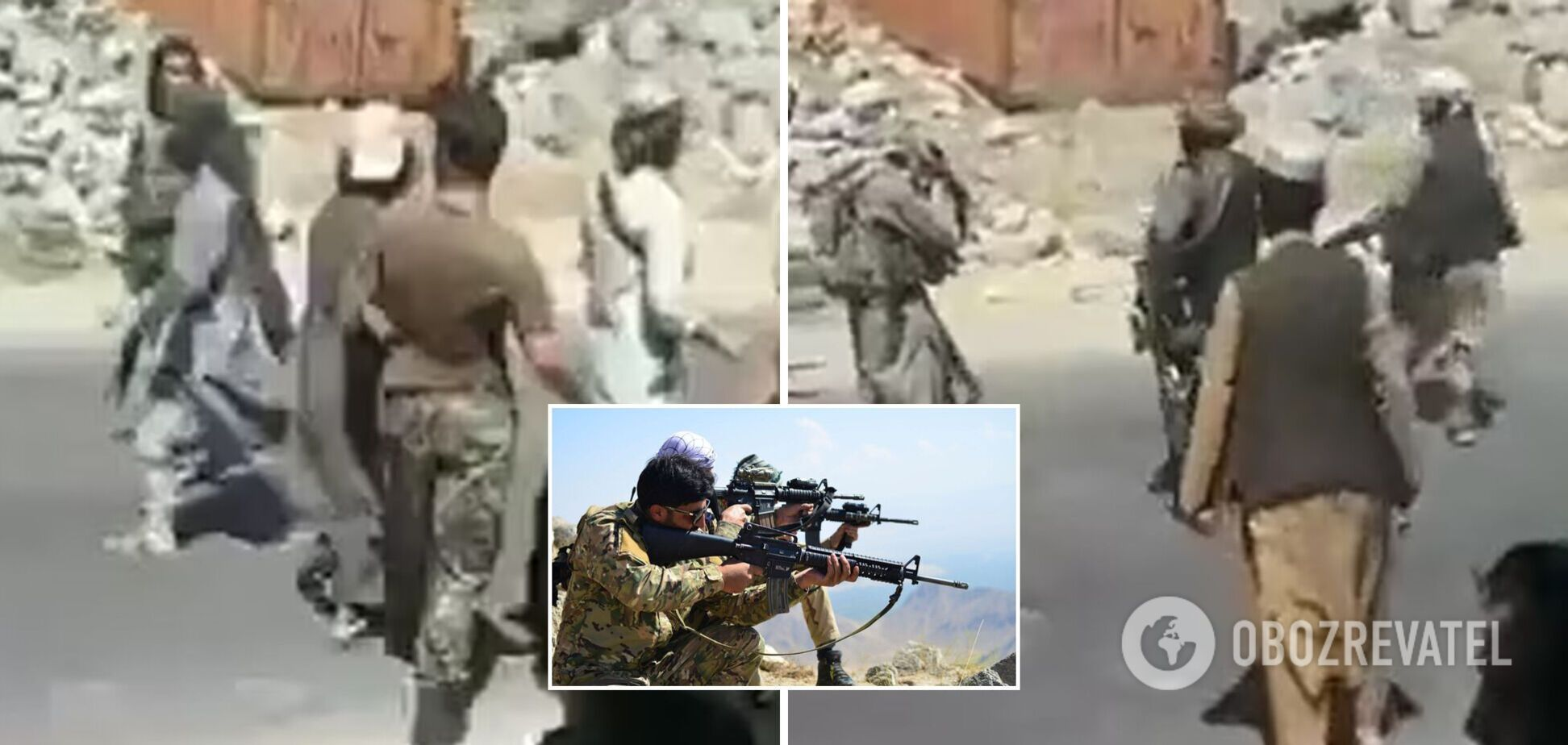 Талибы проводят массовые расправы в захваченном Панджшере: момент казни афганца попал на видео. 18+