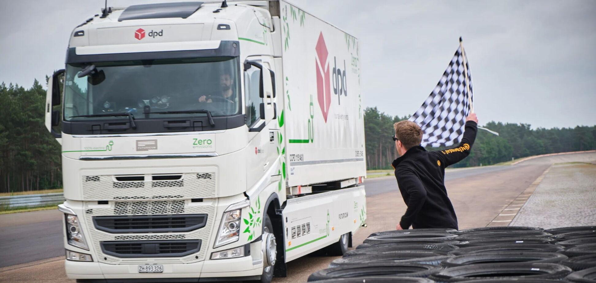 Електровантажівка Volvo проїхала понад 1000 км