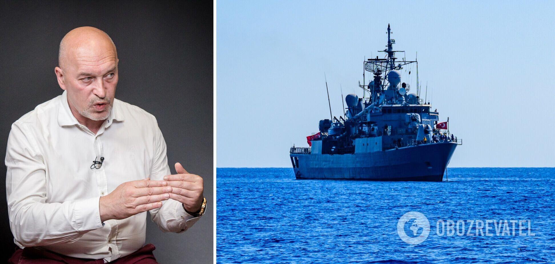 Россия хочет отсечь Украину от Черного и Азовского морей, – Тука