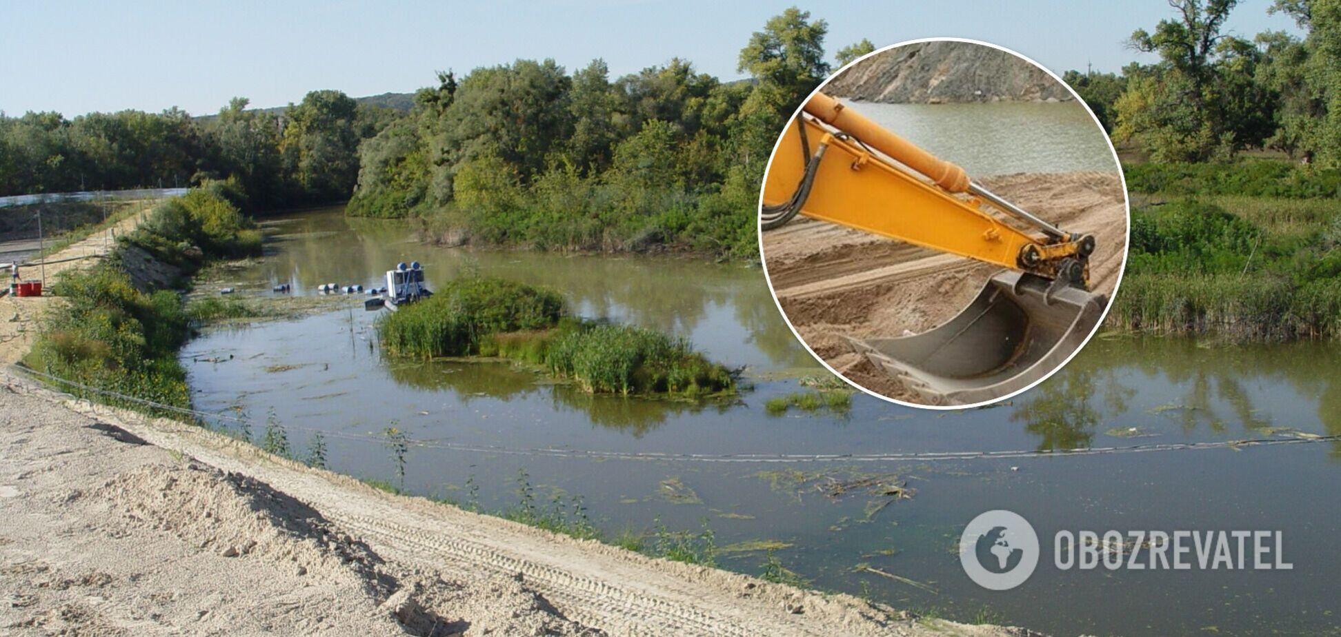Прокуратура проводит следственные действия в митечку у реки Конек из-за нелегальной добычи песка