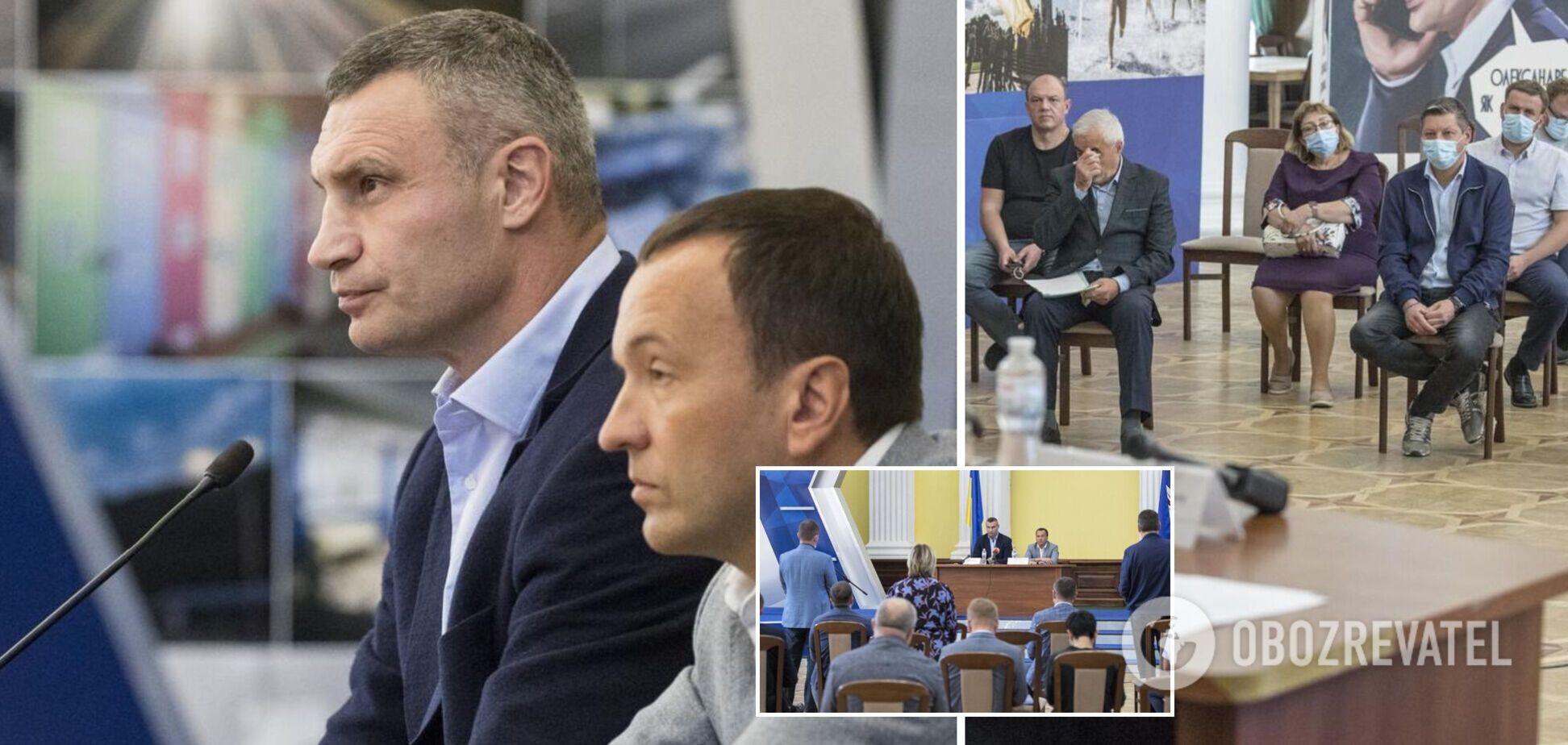 Кличко провів нараду щодо роботи ЖКГ та благоустрою: що доручив главам районів