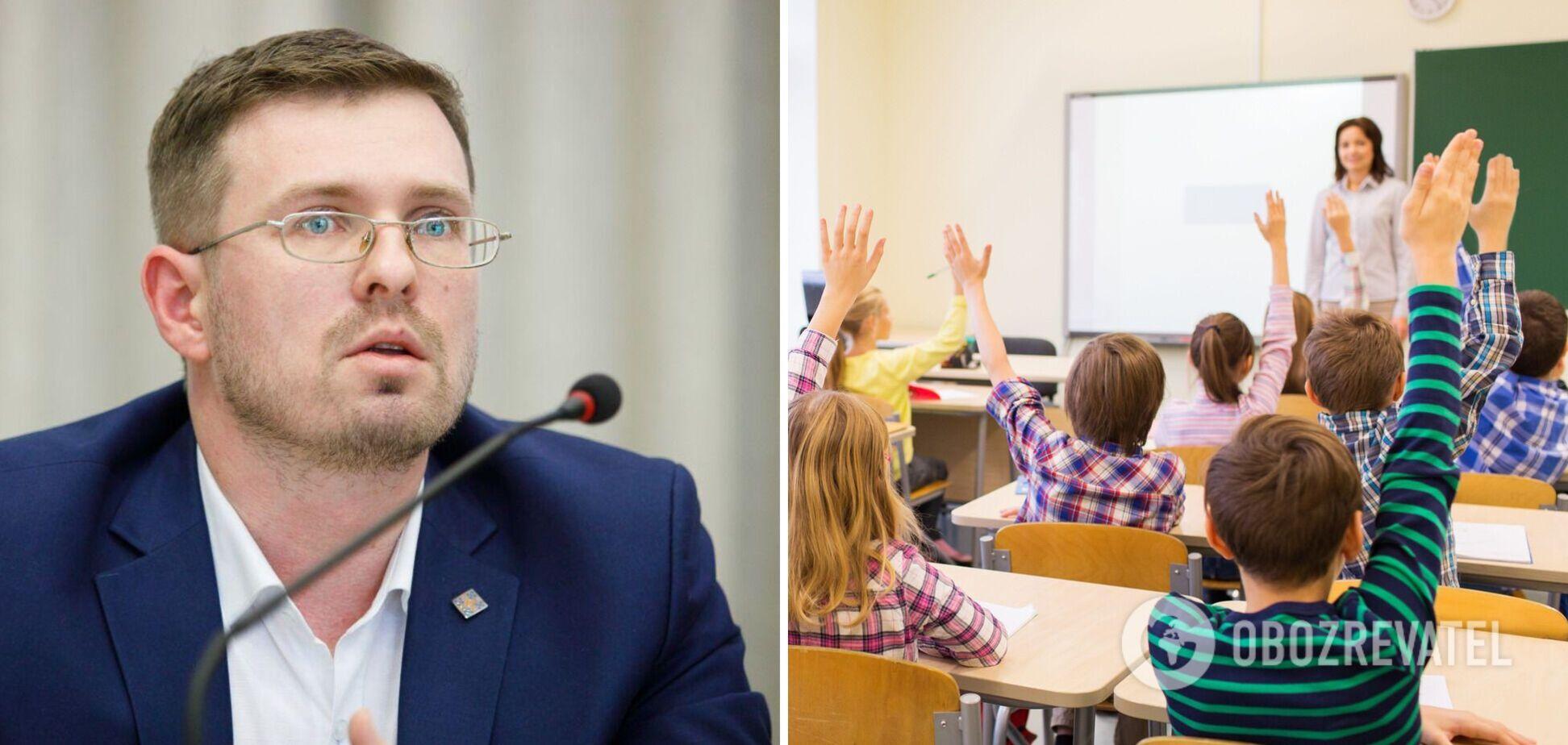 Кузін про вакцинацію від COVID-19 педагогів: це група ризику, багато країн фіксують спалахи в закладах освіти