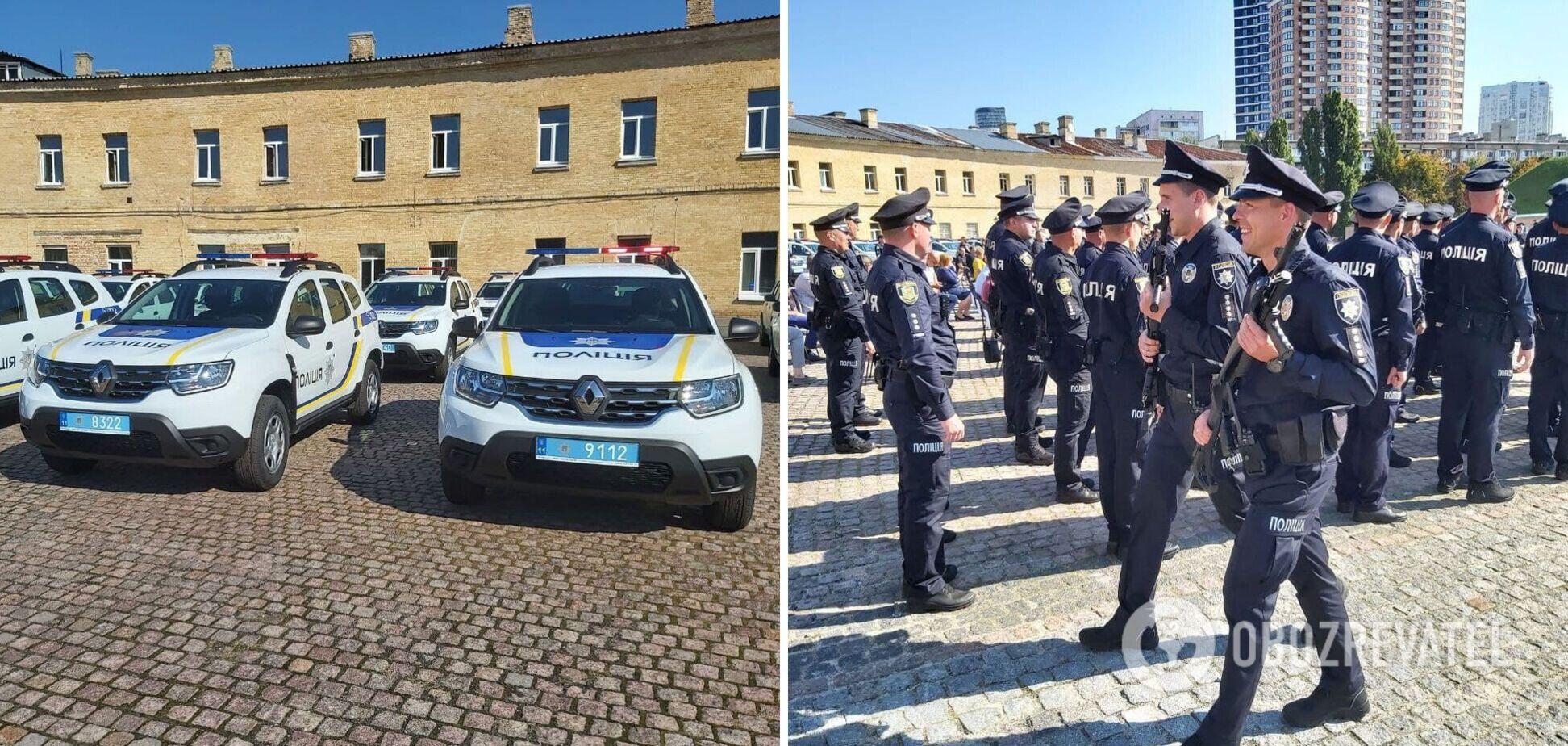 Українським поліцейським передадуть нові авто