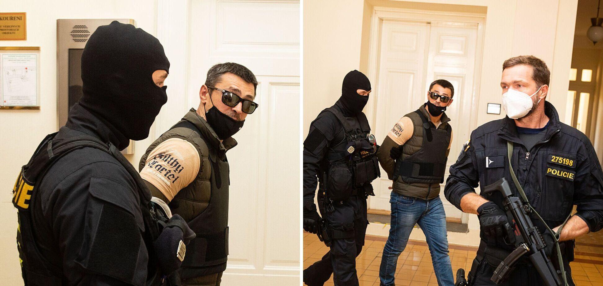 В Чехии суд арестовал участника 'крымской весны' Франчетти, задержанного по запросу Украины. Фото