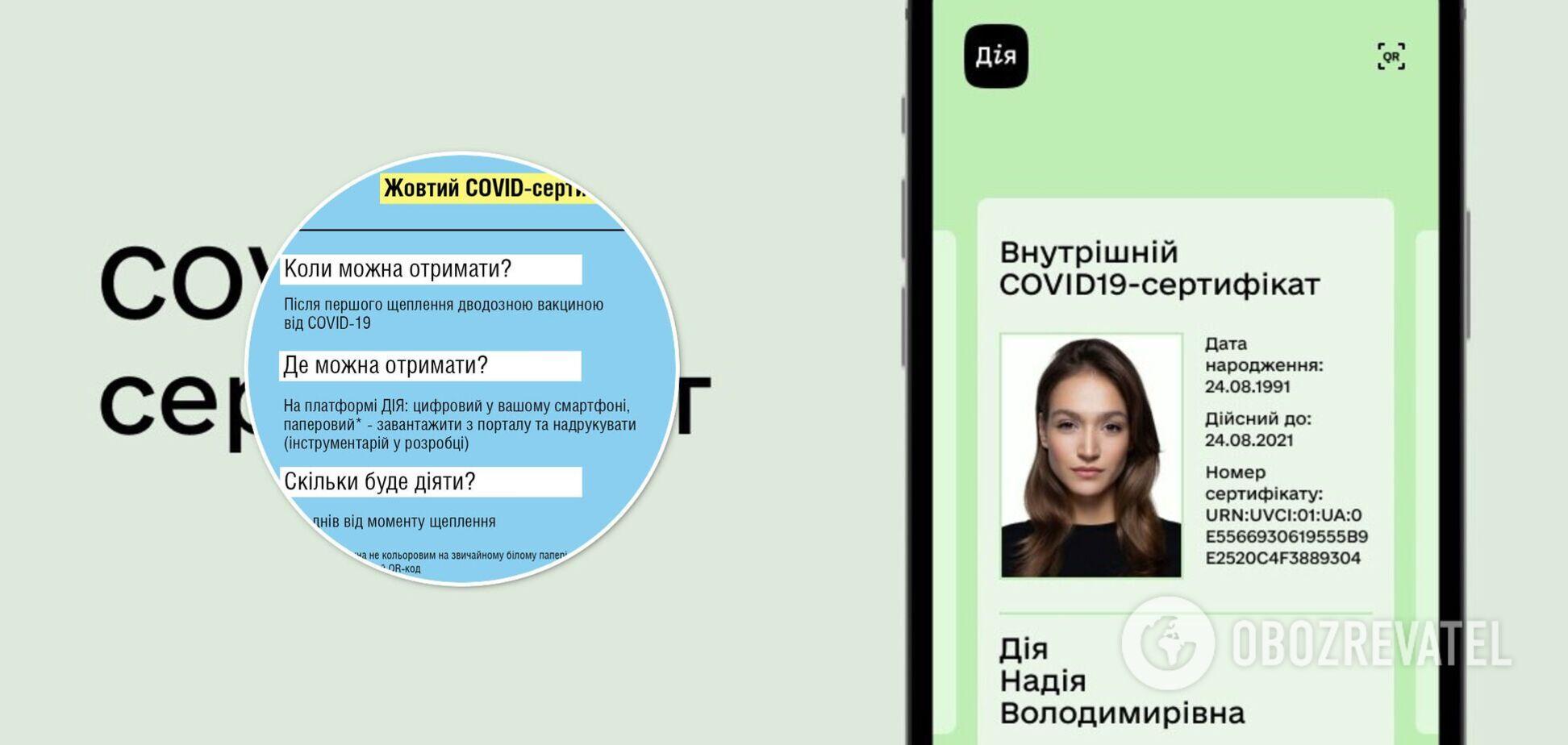 Українці зможуть отримати 'жовтий' COVID-сертифікат: скільки діятиме і кому дадуть