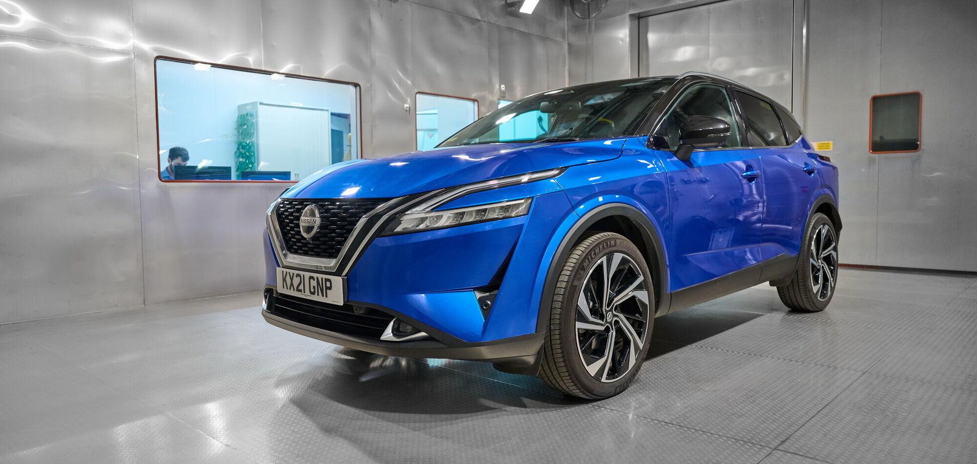 Кроссоверу Nissan Qashqai надали 'запах нового авто'