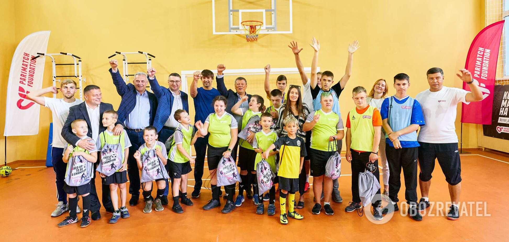 Шовковський: мені дуже близька місія Parimatch Foundation – розвивати дітей через спорт