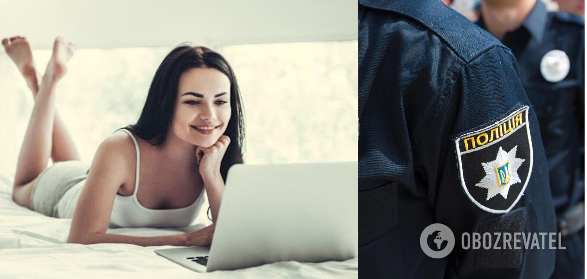Київські слідчі викрили роботу порностудії, скориставшись 'послугами' вебмоделей