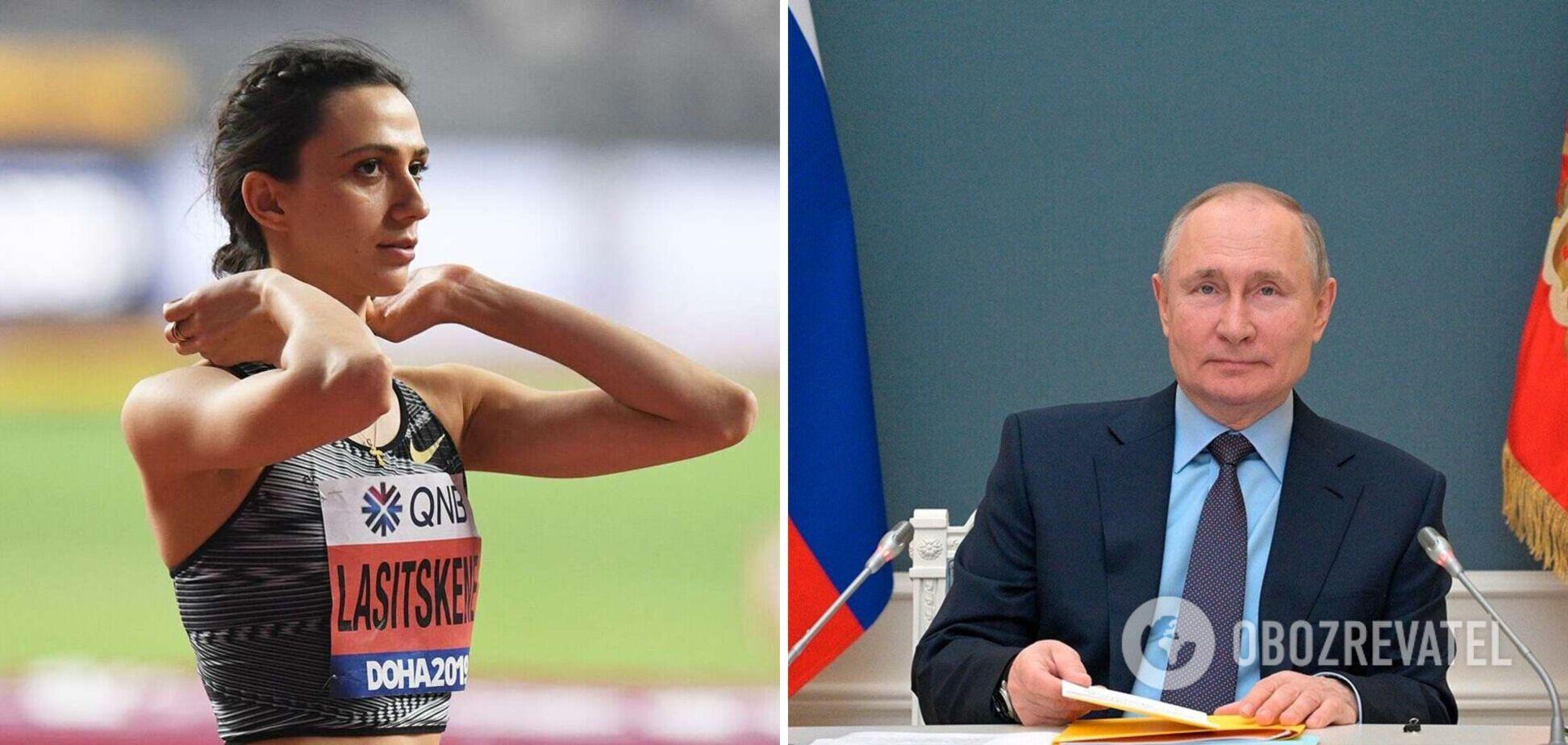 Ласицкене отказалась от встречи с Путиным