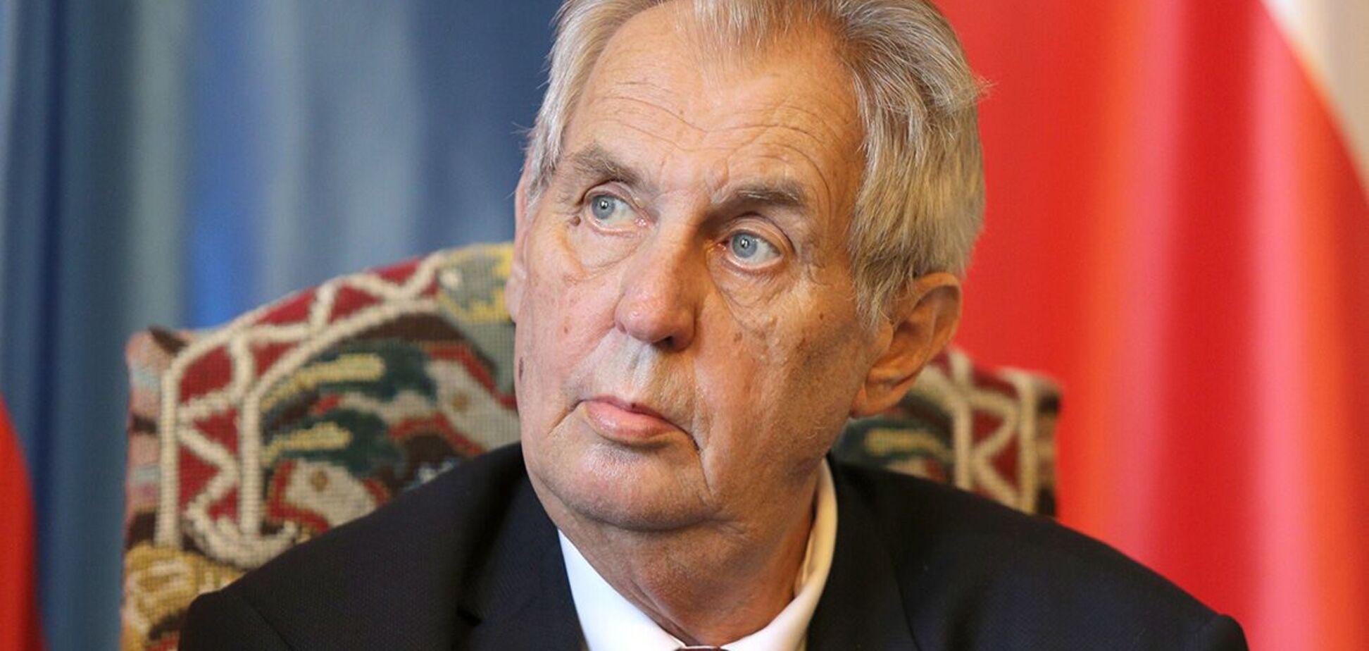 Президент Чехії потрапив до лікарні: там же проходить лікування його попередник на посаді