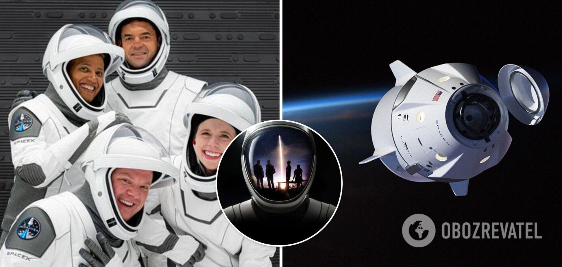 SpaceX запустить першу цивільну місію: де дивитися трансляцію