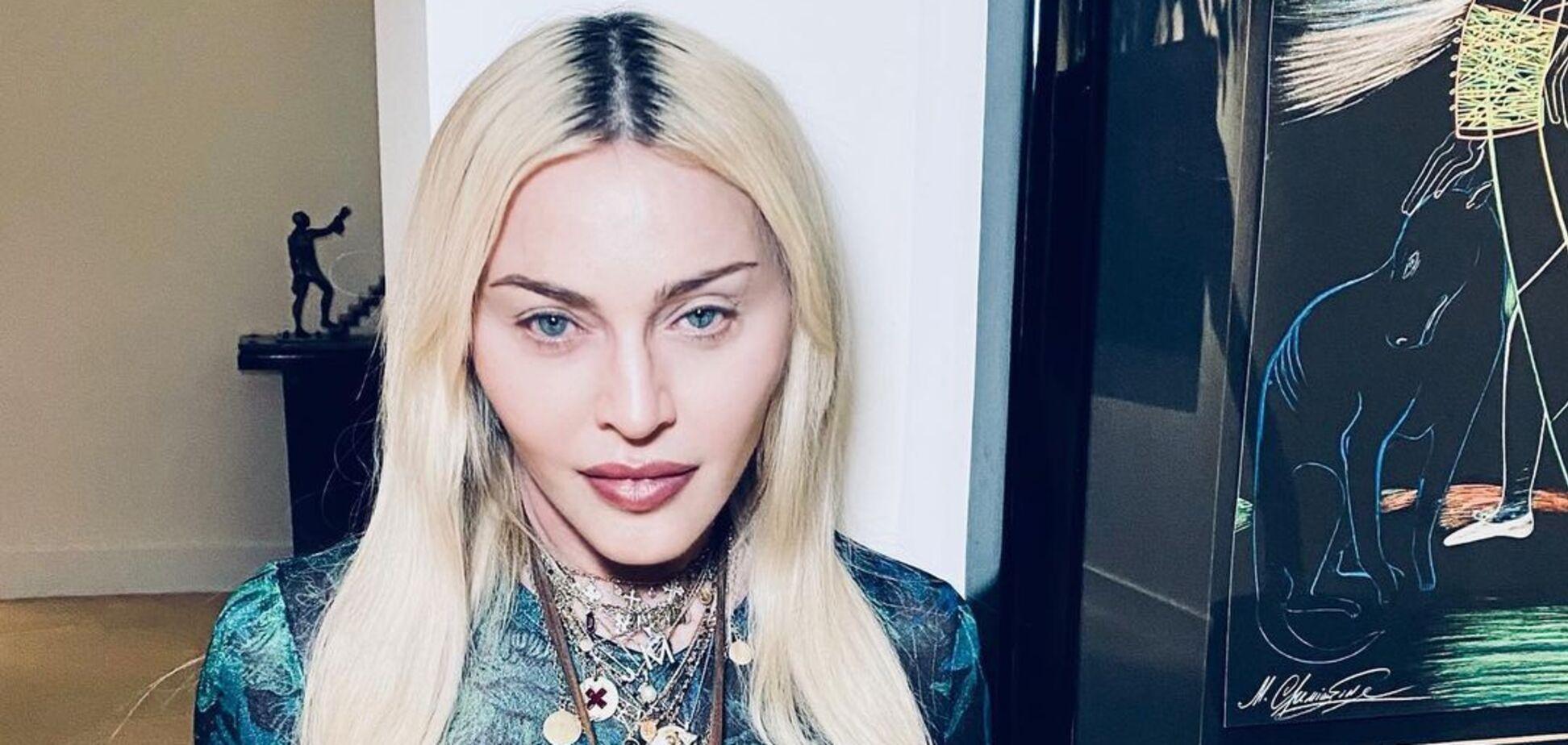 63-річна Мадонна знялася у фаті і відвертому боді. Фото