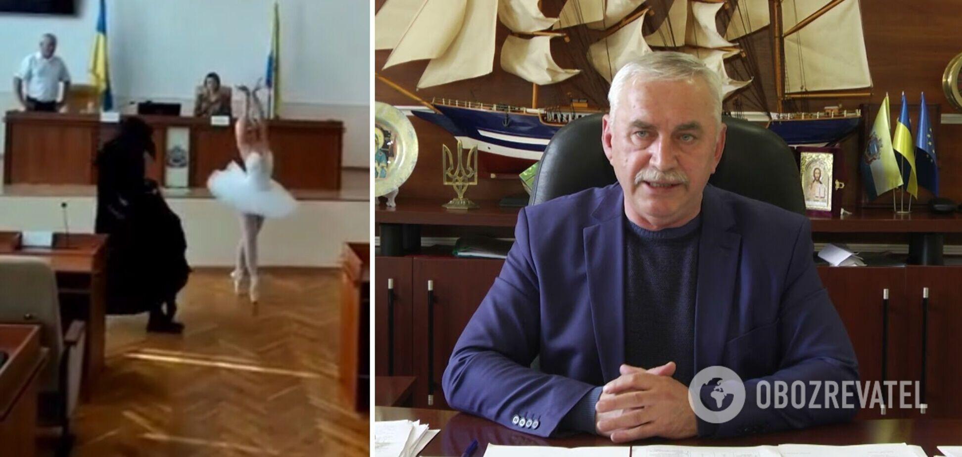 День рождения мэра Черноморска