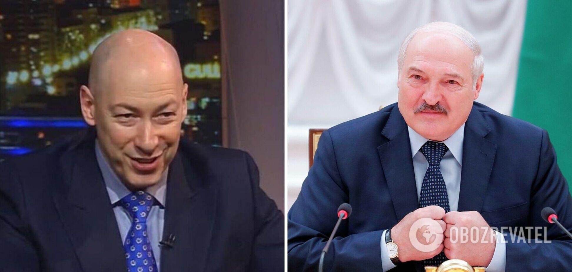 Гордон о Лукашенко: мне кажется, что у него плохо со здоровьем, возможно, не без воздействия 'друзей'