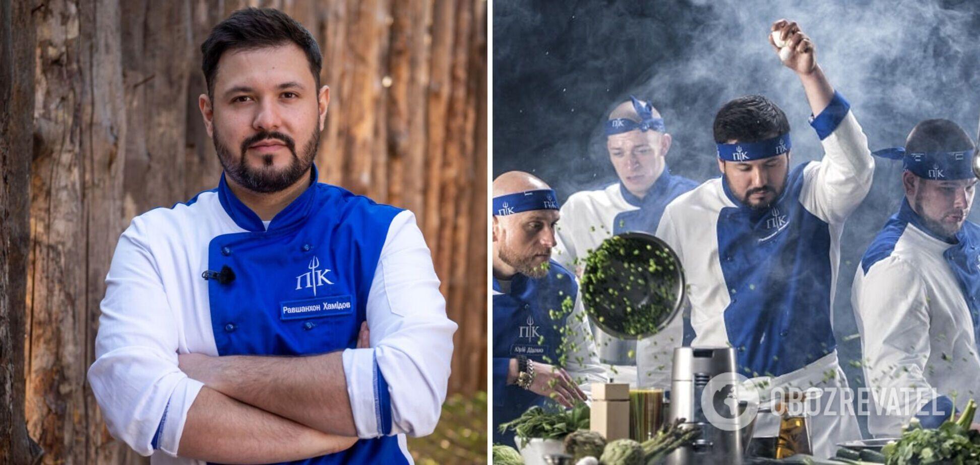 Учасник реаліті 'Пекельна кухня' Равшан Хамидов
