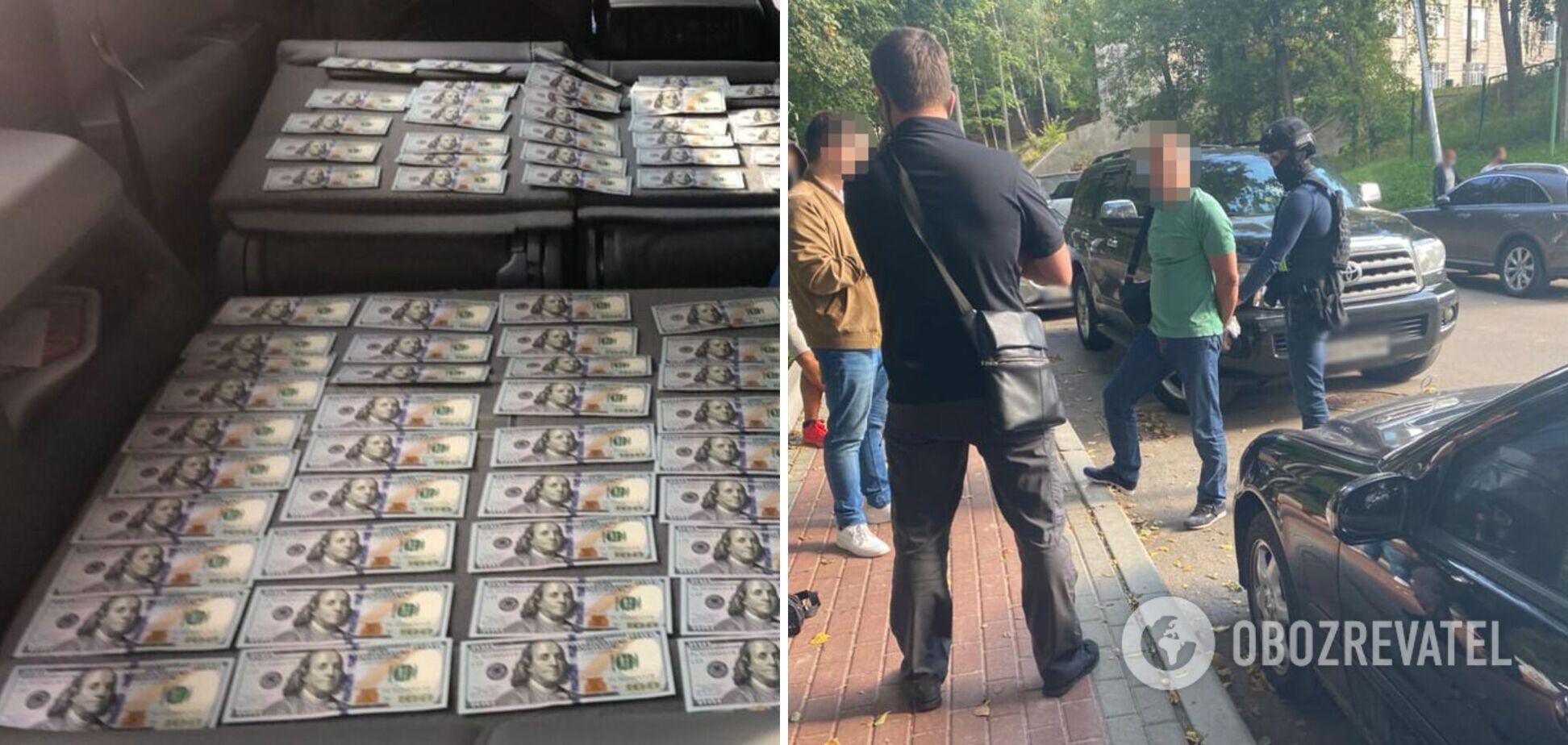 Чиновника Міноборони піймали на хабарі в $30 тисяч. Фото, відео та всі подробиці