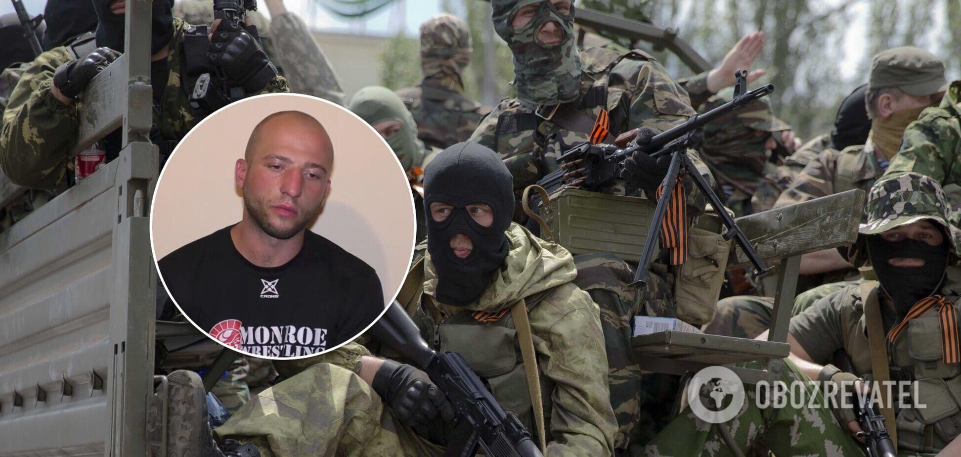 На Донбассе задержали воевавшего на стороне оккупантов украинца. Видео