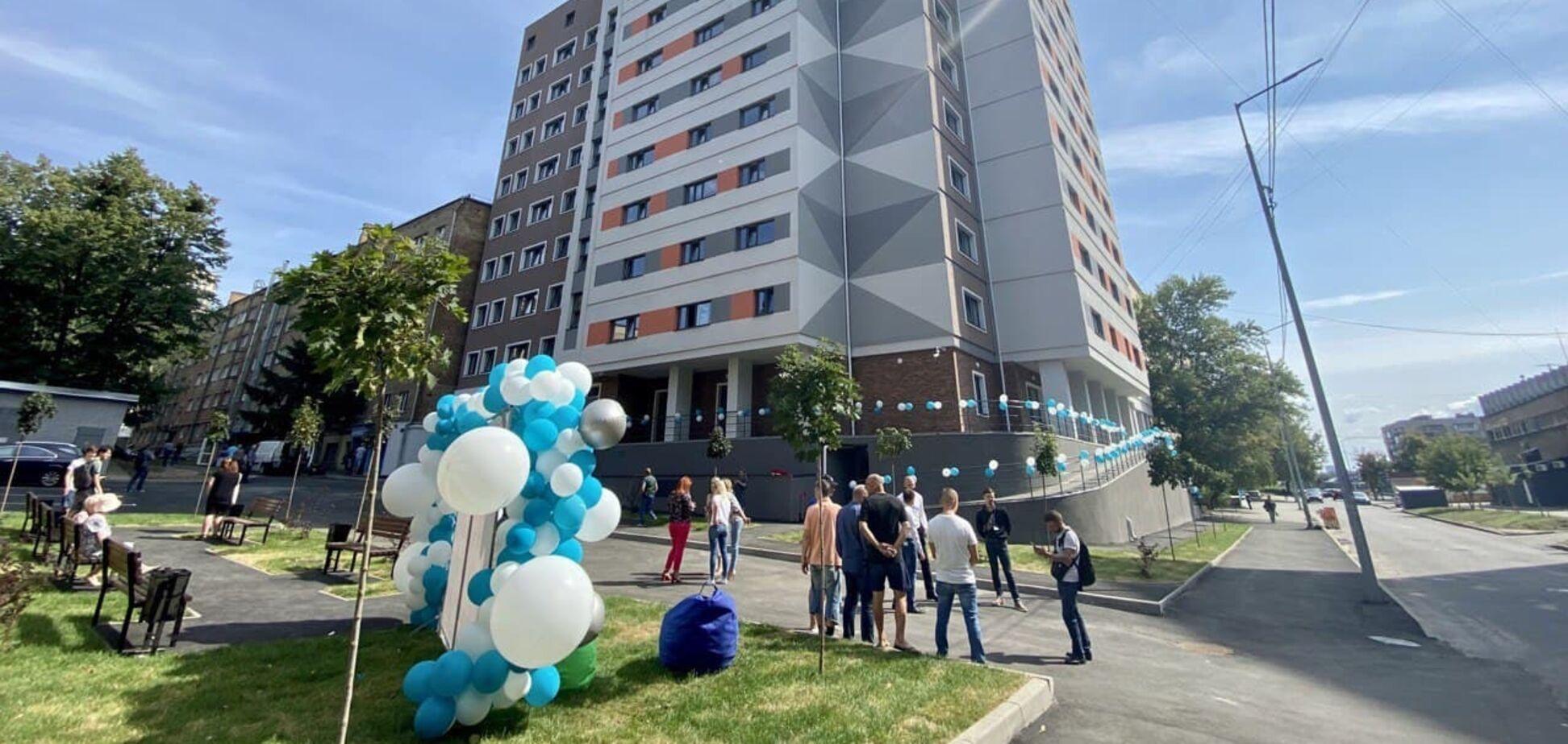 'Евротранс' завершил строительство студенческого общежития в Киеве. Фото