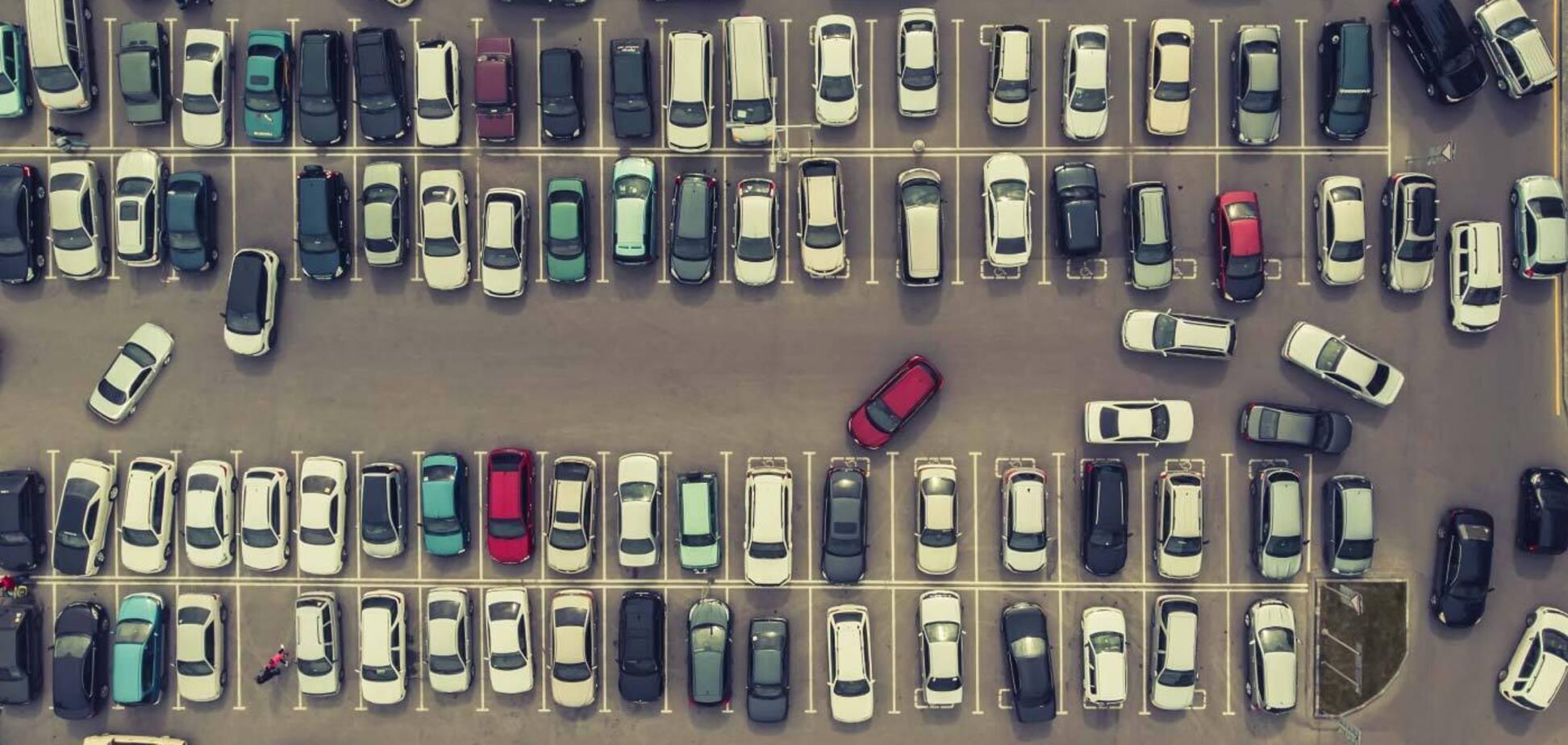 Киев заработал на парковках как Харьков и Одесса вместе взятые