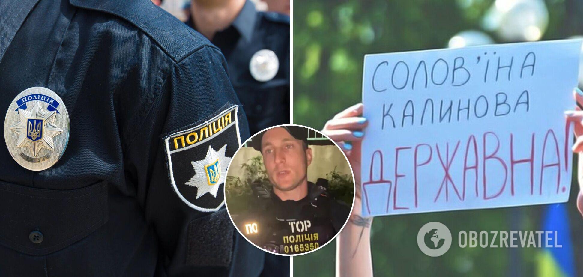 В Хмельницком полицейский отказался говорить на украинском языке: начато служебное расследование