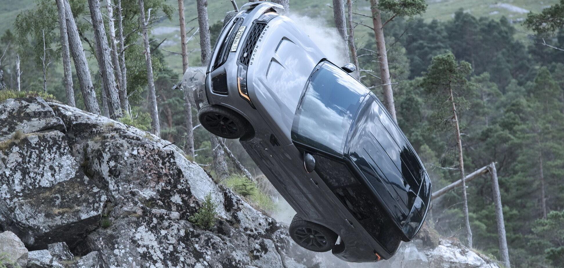 Range Rover Sport SVR 'засветился' в новом фильме о Джеймсе Бонде
