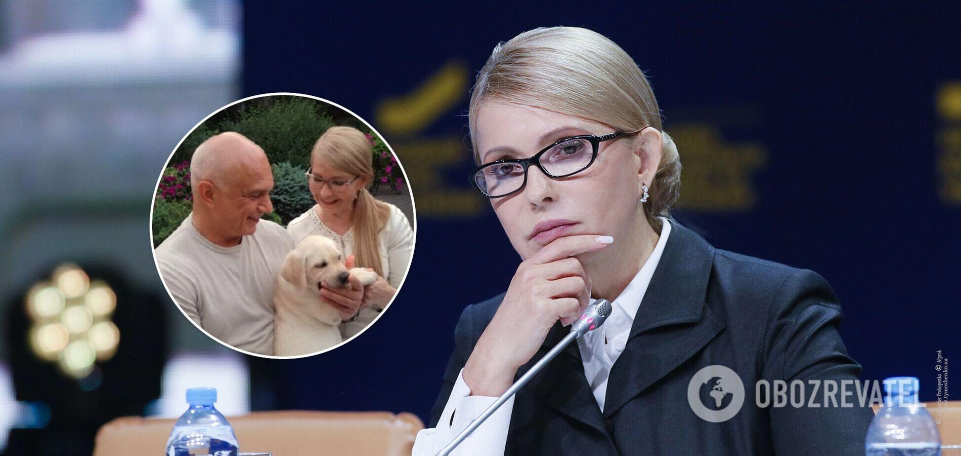 Юлия Тимошенко вместе с мужем