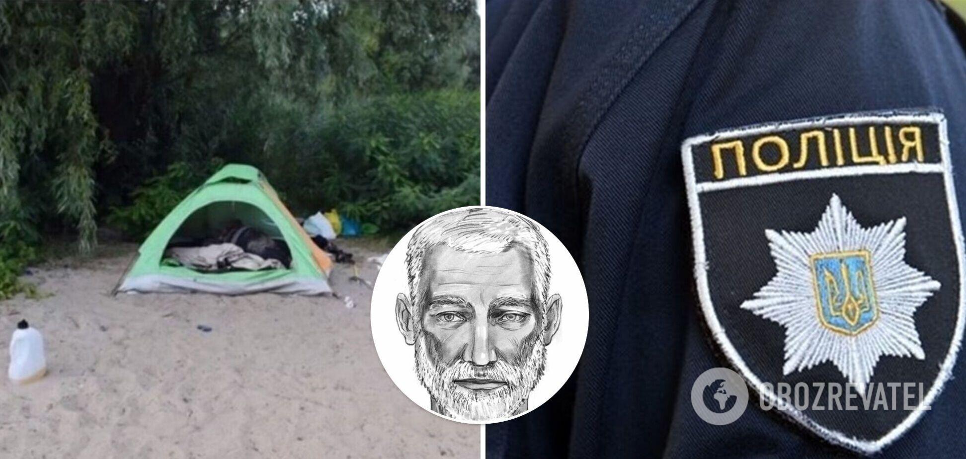У Києві знайшли вбивцю жінки, що жила в наметі на березі Дніпра. Фото