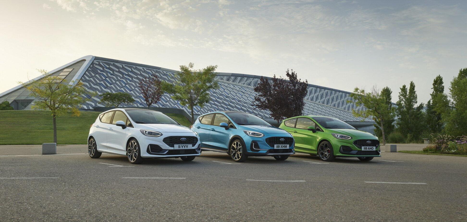 Ford представил обновленное семейство Fiesta. Видео